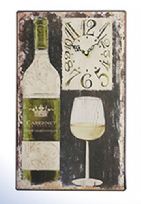 White Wine Cabernet Sauvignon Wall Clock